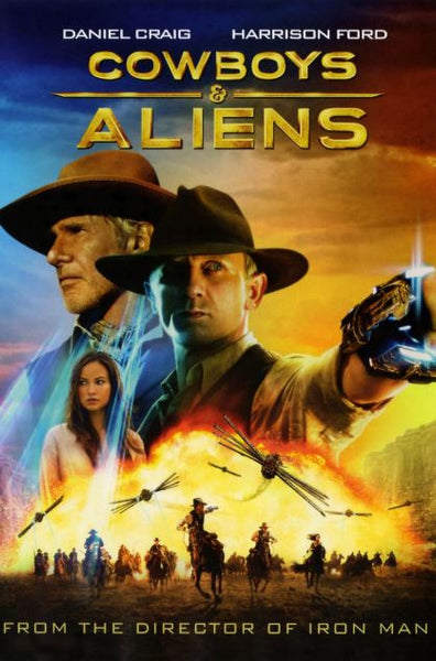 COWBOYS & ALIENS HD iTunes DIGITAL COPY MOVIE CODE