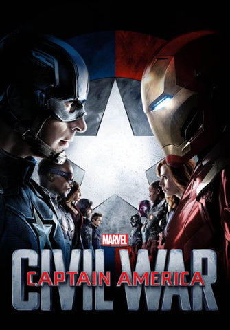 CAPTAIN AMERICA CIVIL WAR MARVEL HD DMA DISNEY MOVIES ANYWHERE