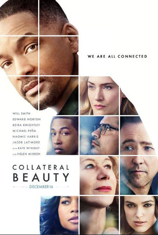COLLATERAL BEAUTY SD UV ULTRAVIOLET DIGITAL MOVIE CODE