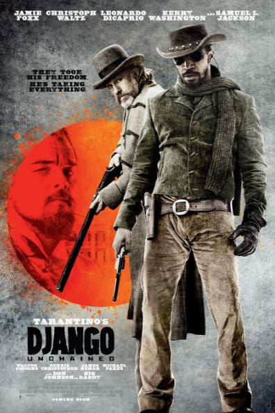 DJANGO UNCHAINED HD iTunes DIGITAL COPY MOVIE CODE
