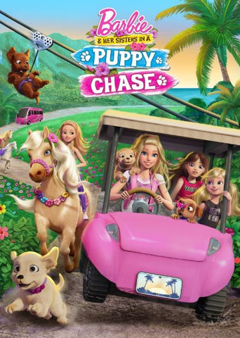 BARBIE & HER SISTERS IN PUPPY CHASE HD iTunes DIGITAL COPY MOVIE CODE