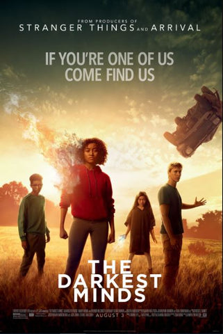 THE DARKEST MINDS HD GOOGLE PLAY DIGITAL COPY MOVIE CODE