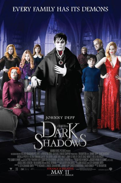 DARK SHADOWS XML DIGITAL COPY MOVIE CODE