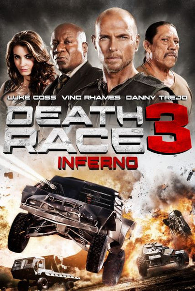 DEATH RACE 3 INFERNO UNRATED HDX UV ULTRAVIOLET DIGITAL MOVIE CODE ONLY - USA CANADA