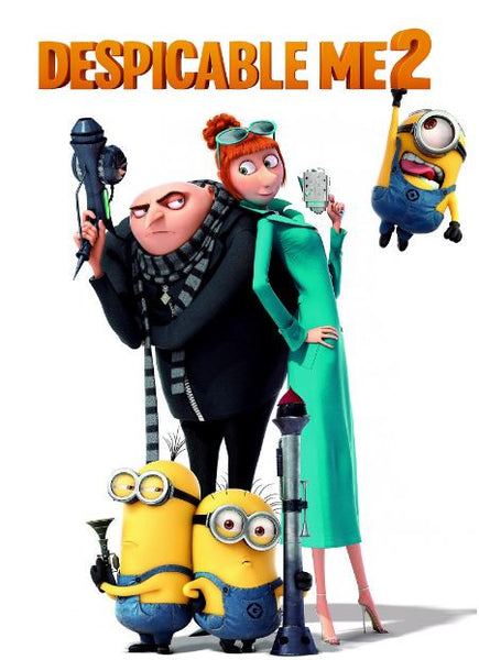 DESPICABLE ME 2 HD iTunes DIGITAL COPY MOVIE CODE