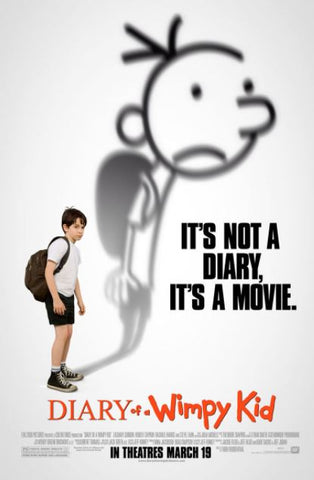 DIARY OF A WIMPY KID THE ORIGINAL HDX UV or HD iTunes DIGITAL COPY MOVIE CODE