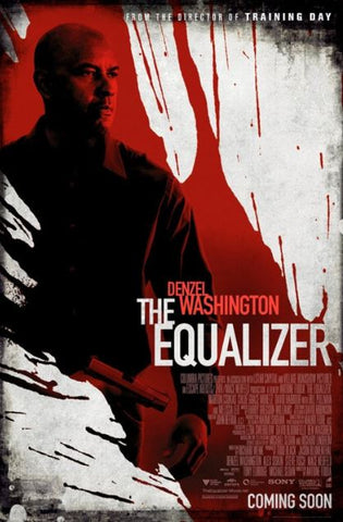 THE EQUALIZER HDX UV ULTRAVIOLET DIGITAL MOVIE CODE