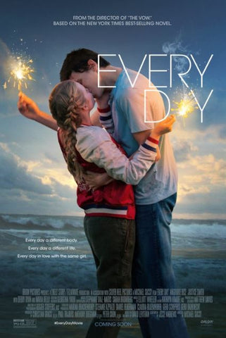 EVERY DAY HD iTunes DIGITAL COPY MOVIE CODE
