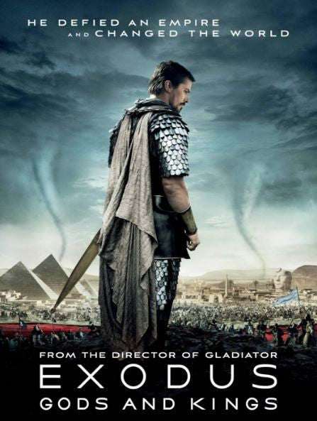 EXODUS GODS AND KINGS HDX UV ULTRAVIOLET or HD iTunes DIGITAL COPY MOVIE CODE