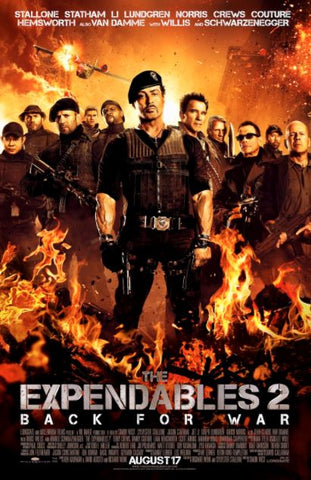 THE EXPENDABLES 2 SD iTunes DIGITAL COPY MOVIE CODE