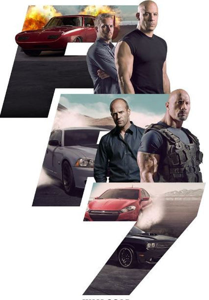 FAST & FURIOUS 7 HDX UV ULTRAVIOLET DIGITAL MOVIE CODE