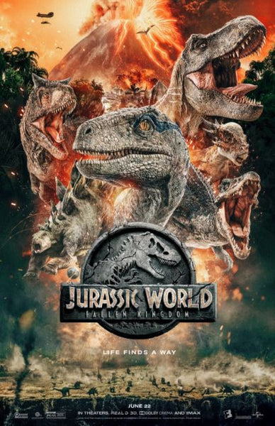 JURASSIC WORLD FALLEN KINGDOM HDX UV ULTRAVIOLET DIGITAL MOVIE CODE