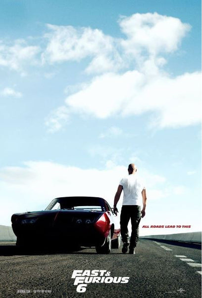 FAST & FURIOUS 6 EXTENDED VERSION HD iTunes DIGITAL COPY MOVIE CODE