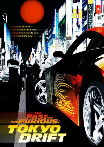THE FAST AND THE FURIOUS 3 TOKYO DRIFT HD iTunes DIGITAL COPY MOVIE CODE