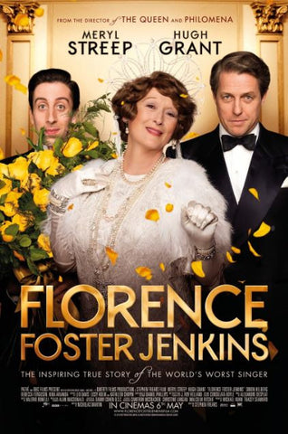 FLORENCE FOSTER JENKINS HD iTunes DIGITAL COPY MOVIE CODE