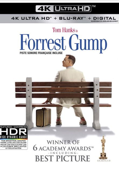 FORREST GUMP UHD 4K DIGITAL MOVIE CODE