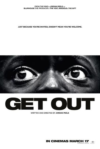 GET OUT HDX UV ULTRAVIOLET DIGITAL MOVIE CODE ONLY - USA CANADA