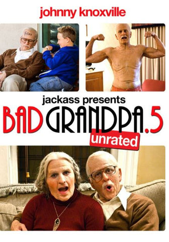 BAD GRANDPA .5 HD iTunes DIGITAL COPY MOVIE CODE