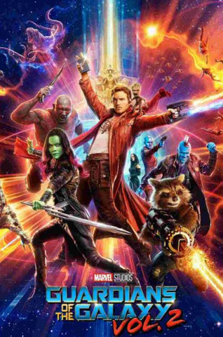 GUARDIANS OF THE GALAXY VOL 2 HD DISNEY MARVEL DC MOVIE CODE