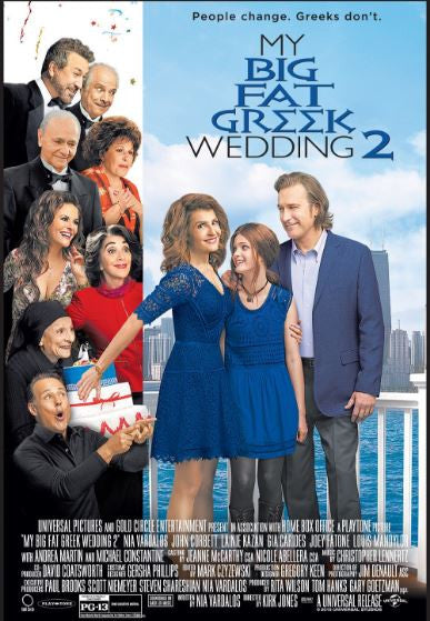 MY BIG FAT GREEK WEDDING 2 HD GOOGLE PLAY DIGITAL COPY MOVIE CODE (DIRECT INTO GOOGLE PLAY) CANADA