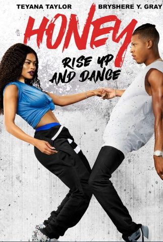 HONEY RISE UP AND DANCE HDX UV ULTRAVIOLET DIGITAL MOVIE CODE ONLY - USA CANADA
