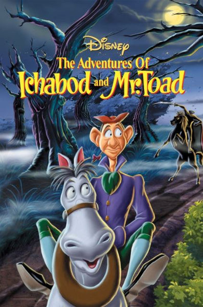 THE ADVENTURES OF ICHABOD AND MR TOAD SPECIAL EDITION HD DMA DISNEY DIGITAL MOVIE CODE