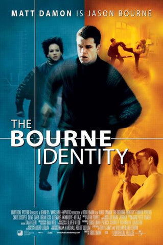 BOURNE IDENTITY (THE) HDX UV ULTRAVIOLET DIGITAL MOVIE CODE ONLY - USA CANADA