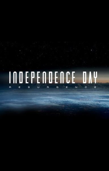 INDEPENDENCE DAY RESURGENCE HDX UV ULTRAVIOLET or HD iTunes DIGITAL COPY MOVIE CODE