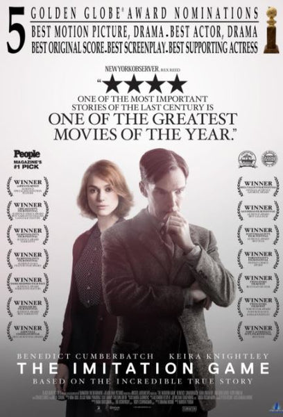 THE IMITATION GAME HD iTunes DIGITAL COPY MOVIE CODE