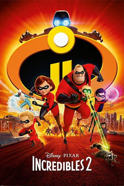 INCREDIBLES 2 DISNEY HD GOOGLE PLAY CODE