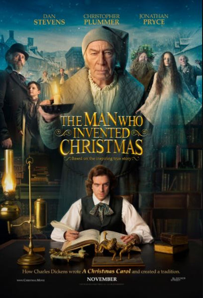 THE MAN WHO INVENTED CHRISTMAS HD iTunes DIGITAL COPY MOVIE CODE