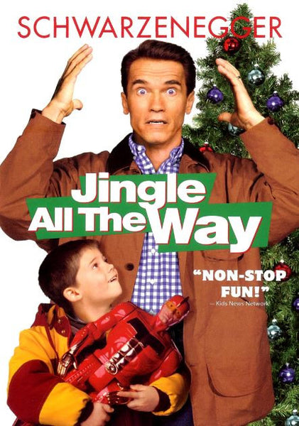 JINGLE ALL THE WAY HDX UV ULTRAVIOLET DIGITAL COPY MOVIE CODE