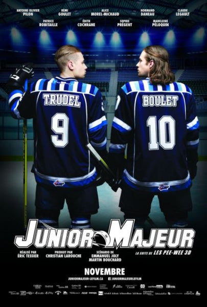 JUNIOR MAJEUR (MAJOR JUNIOR) HD iTunes (FRENCH VERSION ONLY) DIGITAL COPY MOVIE CODE