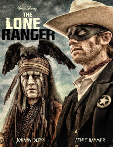 DISNEY THE LONE RANGER HD DMA DISNEY MOVIES ANYWHERE or HD DC DIGITAL COPY MOVIE CODE