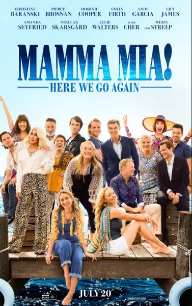 MAMMA MIA 2 HERE WE GO AGAIN HD GOOGLE PLAY DIGITAL COPY MOVIE CODE (DIRECT INTO GOOGLE PLAY) CANADA