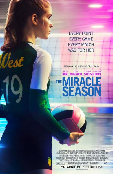 THE MIRACLE SEASON HD iTunes DIGITAL COPY MOVIE CODE