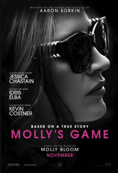 MOLLY'S GAME HD iTunes DIGITAL COPY MOVIE CODE