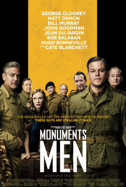 MONUMENTS MEN (THE) HDX UV ULTRAVIOLET DIGITAL MOVIE CODE