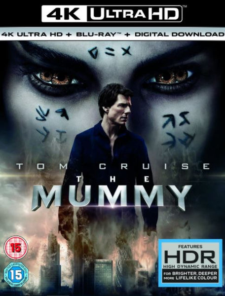 THE MUMMY 2017 UHD 4K UV ULTRAVIOLET DIGITAL MOVIE CODE