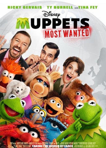 DISNEY THE MUPPETS MOST WANTED THE UNNECESSARILY EDITION HD DMA DISNEY MOVIES ANYWHERE or HD DC DIGITAL COPY MOVIE CODE