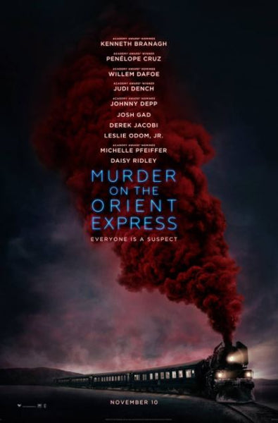 MURDER ON THE ORIENT EXPRESS HD iTunes DIGITAL COPY MOVIE CODE