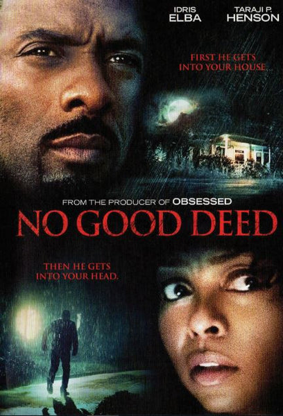 NO GOOD DEED SD UV ULTRAVIOLET DIGITAL MOVIE CODE