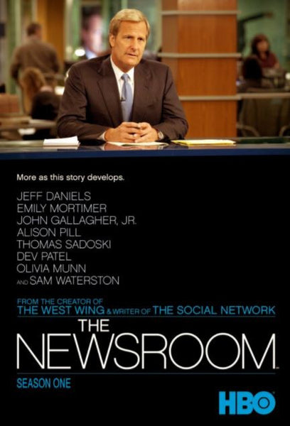 THE NEWSROOM SEASON 1 HD GOOGLE PLAY DIGITAL COPY MOVIE CODE ONLY - USA ONLY