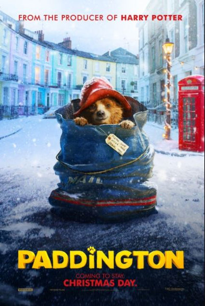 PADDINGTON HD iTunes DIGITAL COPY MOVIE CODE