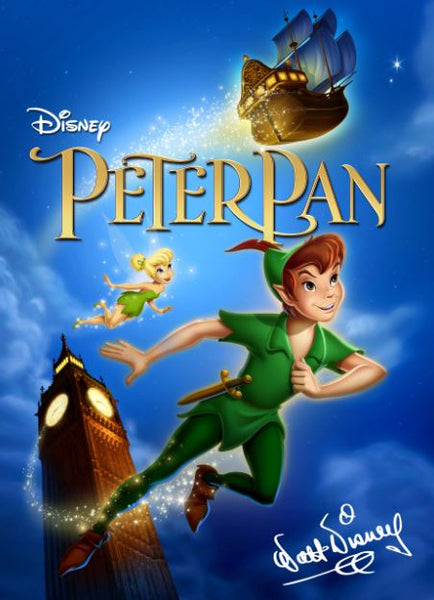 PETER PAN SIGNATURE COLLECTION DISNEY HD GOOGLE PLAY DIGITAL COPY MOVIE CODE (DIRECT INTO GOOGLE PLAY) USA CANADA