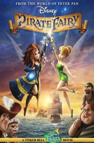 DISNEY TINKER BELL AND THE PIRATE FAIRY HD DMA DISNEY MOVIES ANYWHERE or HD DC DIGITAL COPY MOVIE CODE