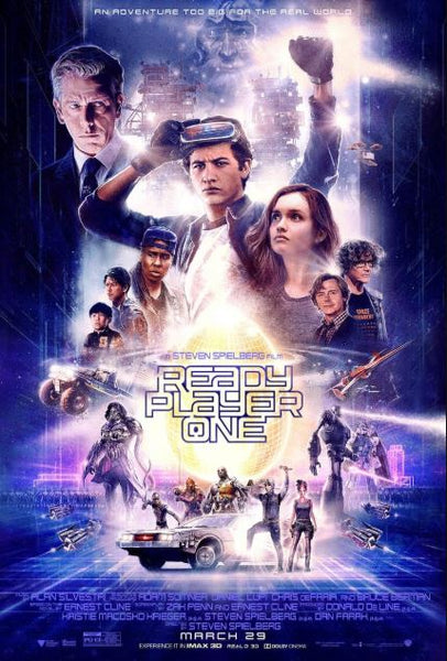 READY PLAYER ONE HDX UV ULTRAVIOLET DIGITAL MOVIE CODE