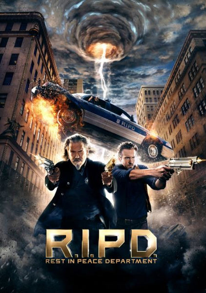 RIPD REST IN PEACE DEPARTMENT HD iTunes DIGITAL COPY MOVIE CODE ONLY - USA CANADA