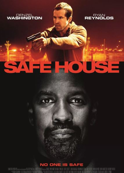 SAFE HOUSE HD iTunes DIGITAL COPY MOVIE CODE