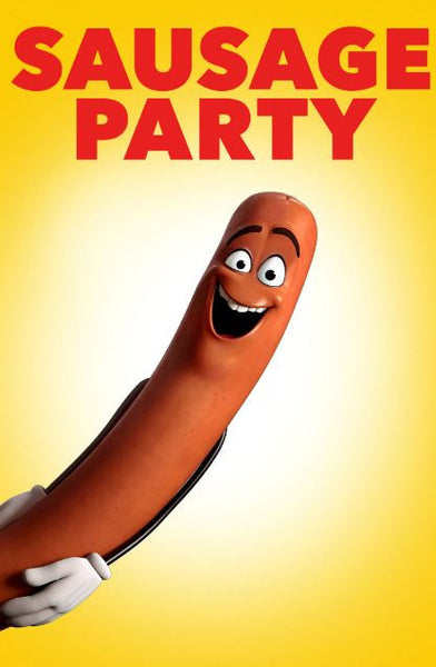 SAUSAGE PARTY HDX UV ULTRAVIOLET DIGITAL MOVIE CODE
